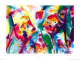 Alfred Gockel - Skaláry (Angel Fish) Obrazy