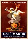 Café Martin1921 Art par Leonetto Cappiello