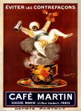 Cafe Martin 1921 Posters by Leonetto Cappiello