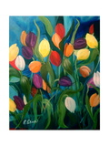 Tulips Galore! Giclee Print by Ruth Palmer Originals