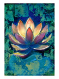 Lotus II Lmina gicle por Marcella Rose