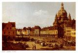 Dresden Neumarkt Posters by Bernardo Belotto