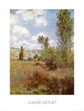 Ile Saint Martin, Vetheuil Prints by Claude Monet