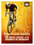 Fatica ciclistica Stampa giclée di Donat Gouri