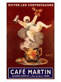 Cafe Martin Gicléedruk van Leonetto Cappiello