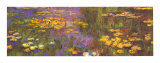 Water Lilies Print by Claude Monet
