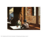Chinees restaurant Affiches van Edward Hopper