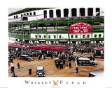 Wrigley Field Poster by Darryl Vlasak