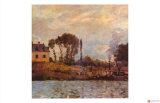 Small Boat on Water Giclee Print by Claude Monet