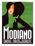 Modiano Reproduction proc&#233;d&#233; gicl&#233;e par Franz Lenhart