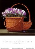 Baskets Of Nantucket Prints by Robert Duff