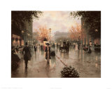 Une Parissienne Posters by Christa Kieffer