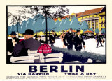 Berlin Giclee Print by Frank Newbould