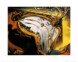 Soft Watch at the Moment of First Explosion, c.1954 Print by Salvador Dalí