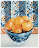 Oranges Art by Frederic Givelet