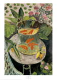 Goldfish, 1912 Prints by Henri Matisse
