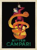 Bitter Campari, n. 1921 Julisteet tekijänä Leonetto Cappiello