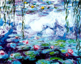 Nympheas Prints by Claude Monet
