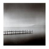 Foggy Morning, Shikotsu Lake, Hokkaido, Japan, 2004 Plakater af Michael Kenna