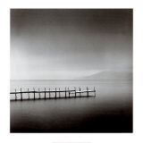 Foggy Morning, Shikotsu Lake, Hokkaido, Japan, 2004 Art by Michael Kenna