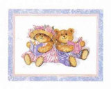 Teddies Reading Print by Barbara Norris
