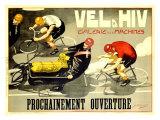 Vel d'Hiv Giclee Print by J. Cancaret