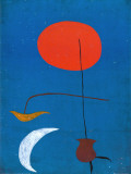 Entwurf fur eine Tapisserie Láminas por Joan Miró
