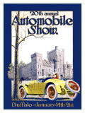 Automobile Show, Buffalo Giclee Print by  Claybaugh