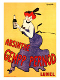 The Absinthe Gempp Pernod Giclee Print by Leonetto Cappiello