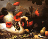 La s&#233;duction du cygne Posters par Kevin Sloan