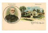 Verdi & Birthplace Art Print