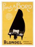 Blondel Piano Giclee Print