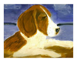 Puppy Giclee Print by Barbara Aliaga