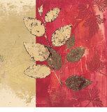 Gilded Birch Print by Matina Theodosiou