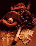 Baseboll Affischer av Michael Harrison