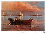 Gloucester Harbor Poster by Winslow Homer