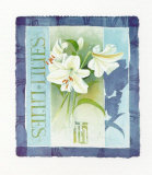 Lilies Posters by Franz Heigl