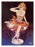 Liqueur Maquette Giclee Print by Emilio Vila