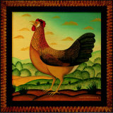 Hen Prints by Diane Pedersen