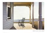 Port confortable Posters par Daniel Pollera