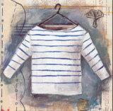 Dans la Penderie I Print by Leslie D.