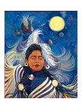 Spirit Dancer Giclee Print by Georgia Lesley