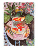 Goldfish Prints by Henri Matisse