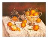 Orange Display Prints by J.R. Insaurralde