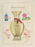 Aromatherapie, Rose Print by Laurence David