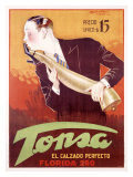 Tonsa Giclee Print by Achille Luciano Mauzan