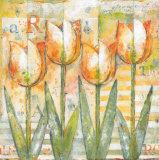 Mariels Tulips II Posters by Eric Barjot