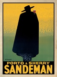 Porto and Sherry Sandeman, 1931 Posters by Georges Massiot
