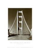 The Golden Gate Bridge, Summer Morning Prints