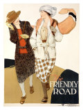 YWCA, The Friendly Road Giclee Print by Anita Parkhurst